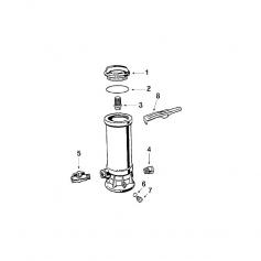 Vanne de brominateur Hayward C1100-1800