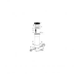 Joint de purgeur d'air de brominateur Hydrotech RB
