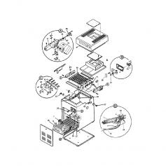 Bouton de thermostat de chaudière Laars LLG