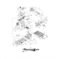 Chambre de combustion de chaudière Laars LX 250
