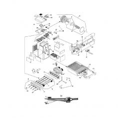 Déflecteur d'échangeur de chaleur chaudière LX250