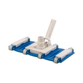 Tête de balai LUXE Label Bleu pour piscine béton