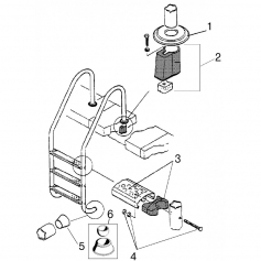 Tampon pour béton, les 2 échelle HS Astral(Ø43mm)