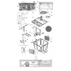 Raccord de tuyau blanc d'alimentation de PCM