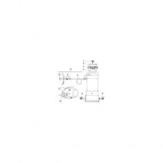 Collier de serrage de brominateur Hydrotech RB