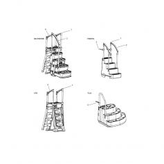 Ensemble visserie / Echelle - Escalier Tux