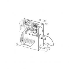 Contacteur 380/24v 50A 4poles générateur vapeurMS*