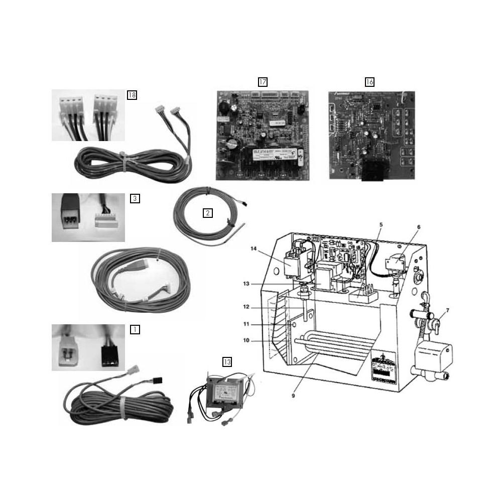 Carte l ctro pn103675 g n rateur de vapeur ms - Generateur de vapeur ...