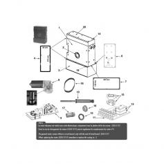 Micro-switch à souder de platine fin de course - lot de 2