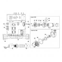 Couvercle pompe platine Hurricane EM90 jusqu'à 92