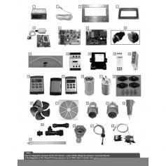 Moteur pour déshumidificateur DHC90-120*