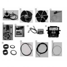 Hélice de ventilateur pour PH75V Fairland*