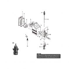 Sonde de niveau de fin de bac, 10m pompe doseuse