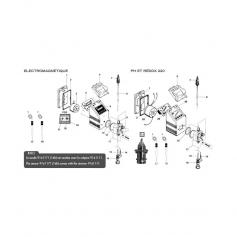 Panneau de commande de pompe doseuse à LED RH220*
