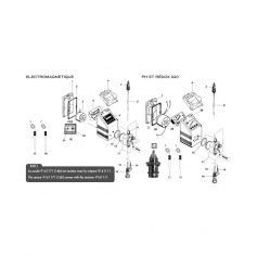Electro-aimant de régulation GMS 10l/10 bars