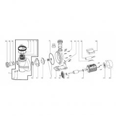 Klixon de moteur de pompe Iris
