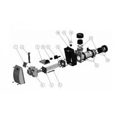 Résistance d'Aqua-Line 12 kW - Incoloy 825*