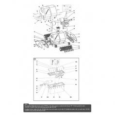 Support de mousse/brosse Patriote (larg. 39,3cm)