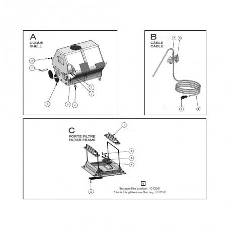 robot electrique clean and go coque