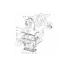 Axe d'entraînement de moteur traction Lazernaut - lot de 2