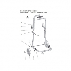 robot electrique lazernaut chariot 2006