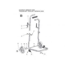 robot electrique lazernaut chariot 2008