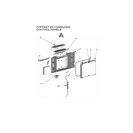 robot electrique lazernaut coffret de commande