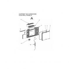 Joint de couvercle coffret cde Patriote (290x3mm)