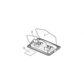 robot electrique clean and go porte filtre