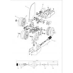Raccord tournant de tuyau pour robot Jet Vac