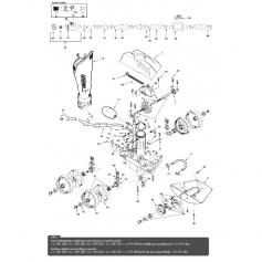 Vis plastique de roue Polaris 180-280