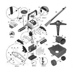 Kit de fixation de poignée Star Vac II, les 2