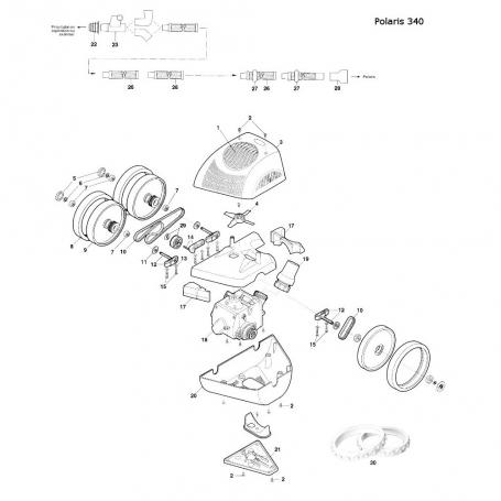 robot Polaris 340