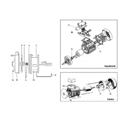 Joint torique d'axe moteur surpresseur Aquaboost