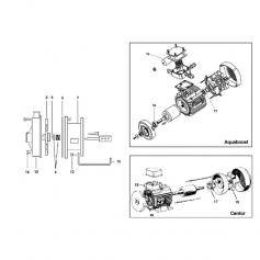 Ventilateur moteur de surpresseur Aquaboost 1cv