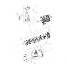 Attache de turbines surpresseur Boost-Rite 1 cv*