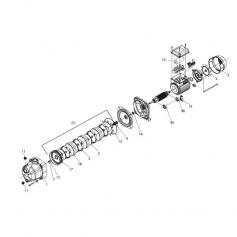 Kit turbine diffuseur complet Euro Com 4M