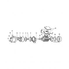 Bobinage moteur de surpresseur Nocchi 60/50