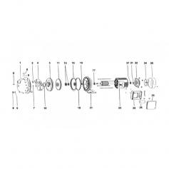 Rondelle centrifuge de surpresseur Tema 1000