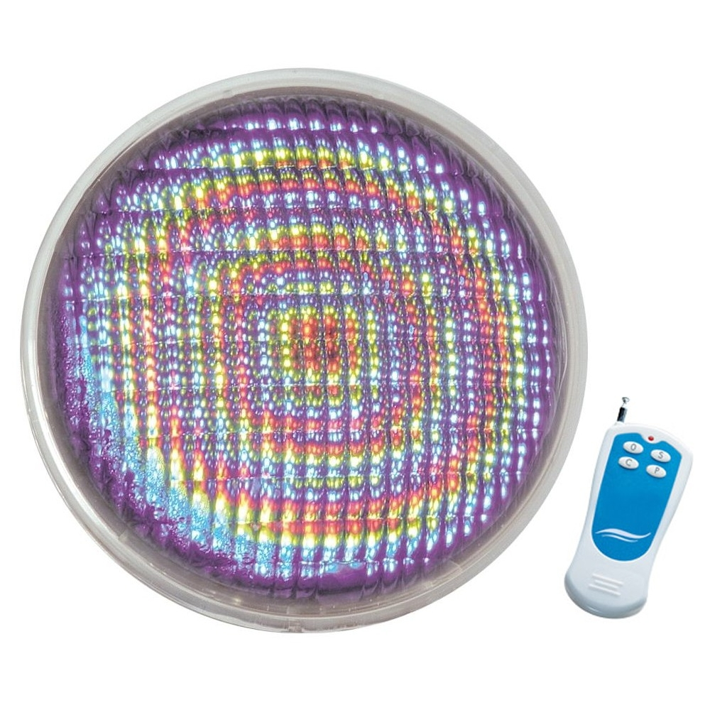 Lampe couleurs seamaid 270 led t l commande for Projecteur piscine