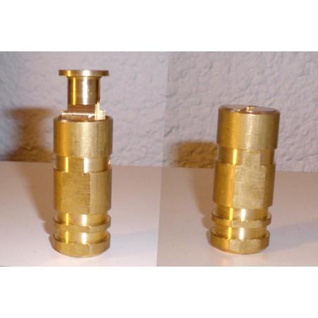 Piton escamotable 22 mm en laiton
