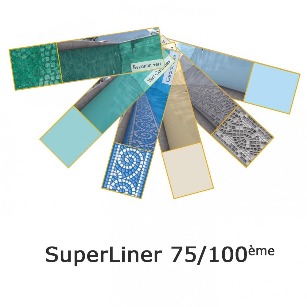 Liner piscine aqualiner 75 100 me for Liner piscine hors sol 75 100
