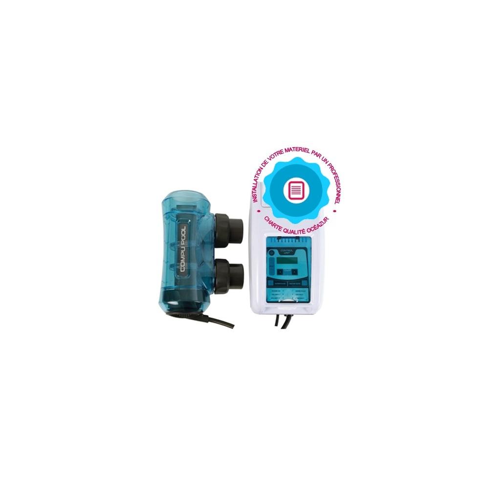 Pose d 39 un lectrolyseur piscine par un professionnel for Electrolyseur piscine