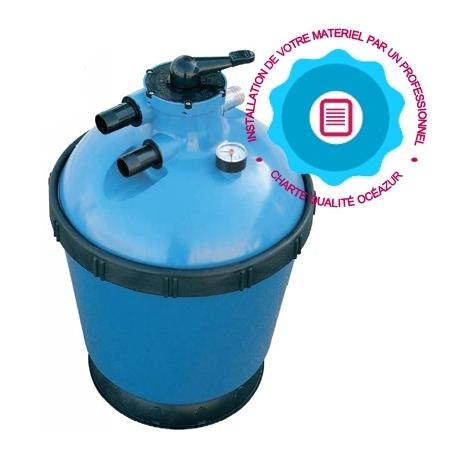 Remplacement du filtre sable de filtration piscine - Sable silice n 20 piscine ...