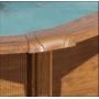 Piscine hors sol Ovale SAN MARINA modèle PACIFIC