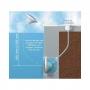 Projecteur piscine Aquareva fixation par clips PL84C-PB84C