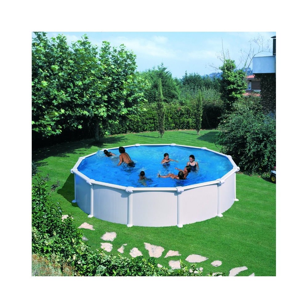 Piscine hors sol ronde gre mod le atlantis for Atlantis piscine