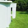 Piscine hors sol Bois Ovale GRE modèle BORA BORA