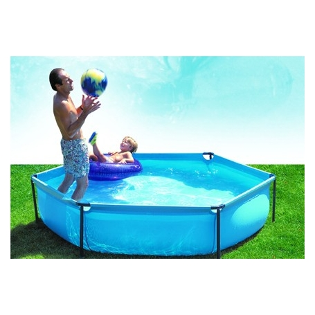 Piscine enfant hexagonale gre mod le jet pool junior for Piscine enfants