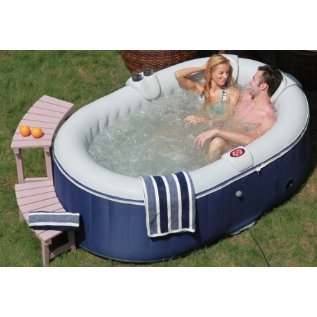 Spa gonflable jacuzzi ospazia duo 2 places - Petit jacuzzi gonflable ...